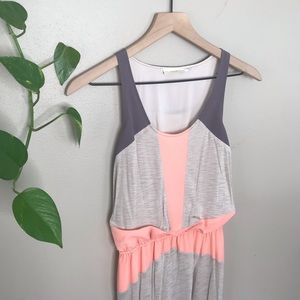 Anthro The Addison Story high low maxi dress sz S
